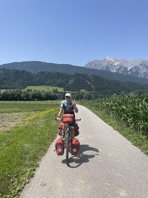 Kurz vor Innsbruck