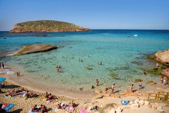 Playas de Compe, Ibiza-伊比萨岛的海滩