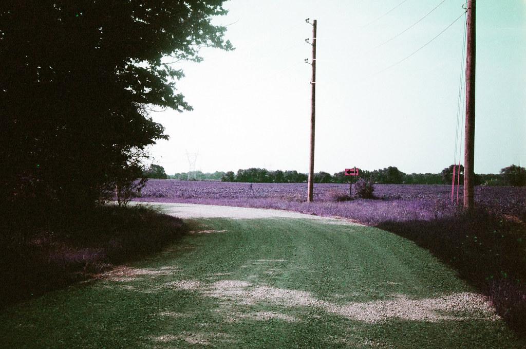 Boone County gravel road