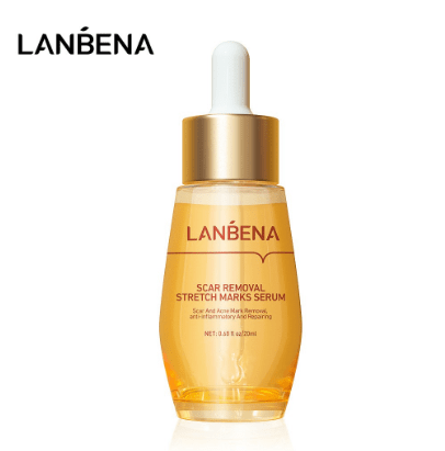LANBENA Scar Removal Serum Stretch Marks Acne Treatment Shrink Pores Whitening Cream Skin Care 20ml