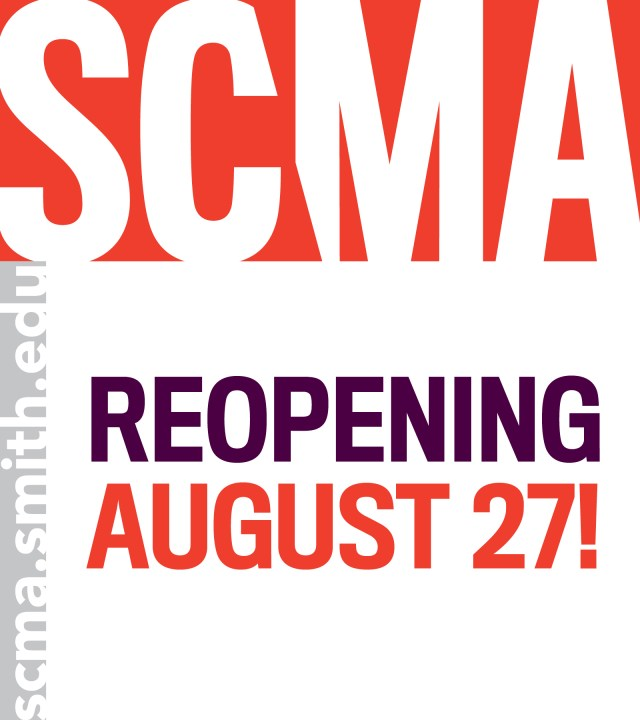 Smith College Museum of Art (SCMA) in Northampton, MA, announces its Reopening Weekend, Friday, August 27 through Sunday, August 29, 2021. Admission will be FREE all weekend. SCMA staff are delighted to welcome visitors back to the museum after being closed since March of 2020. Before your arrival, please take a moment to visitscma.smith.edufor health and safety information and further details that will help make your visit as safe, easy, and enjoyable as possible.