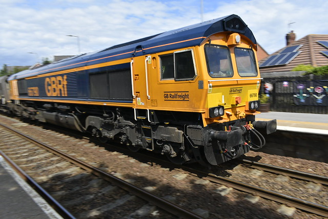 GBRf 66790 at Seaham