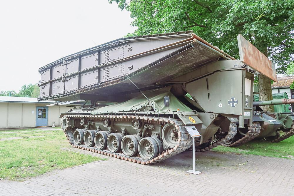 M 48 bridge laying tank - Brückenlegepanzer M 48