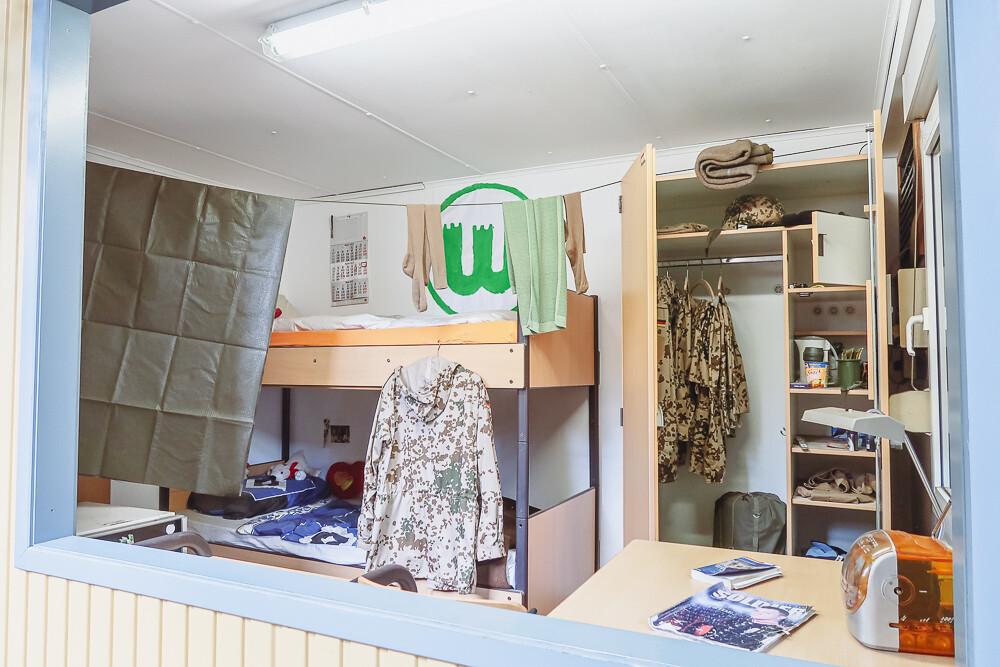 Field camp of the German Armed Forces in action - Feldlager der deutschen Bundeswehr im Einsatz