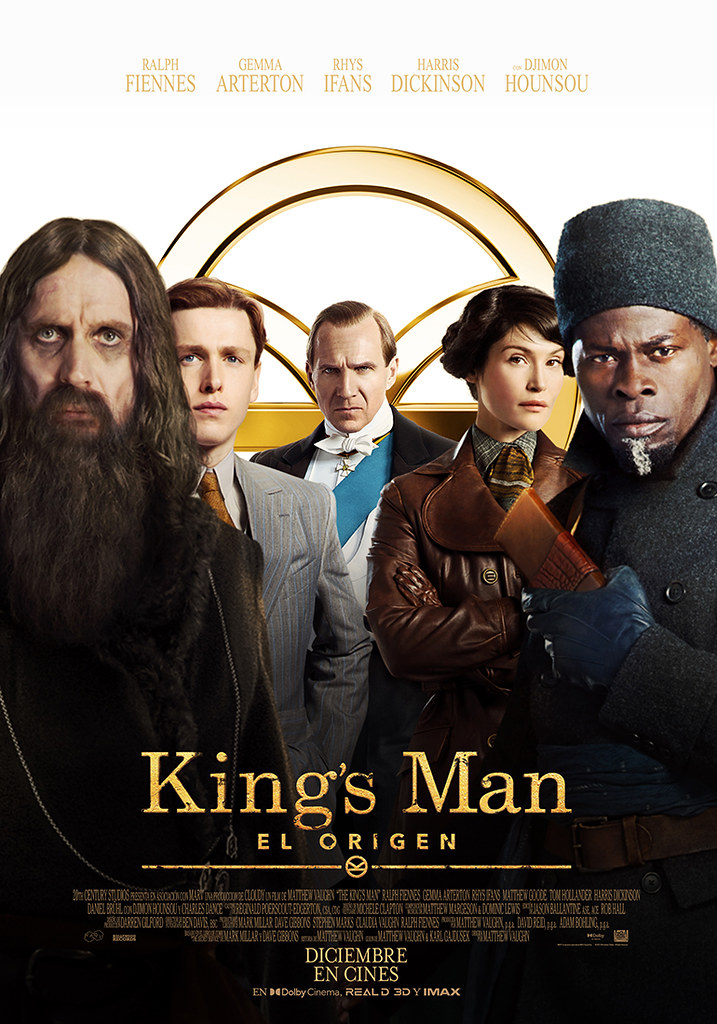 THE KING'S MAN PÓSTER