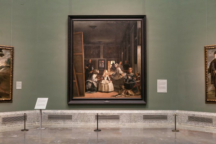 普拉多國家博物館裡的鎮館之寶《宮娥》 © Álvaro López-Madrid Destino