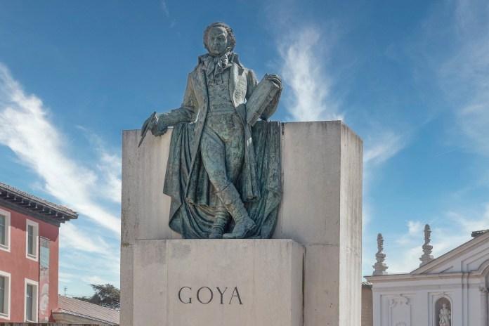 畫家戈雅Fuente Goya - Autor Luis Lacorte ©Zaragoza Turismo