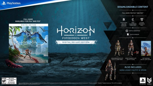 Pre-order Horizon Forbidden West now: Collector's and Digital Deluxe Editions detailed 1