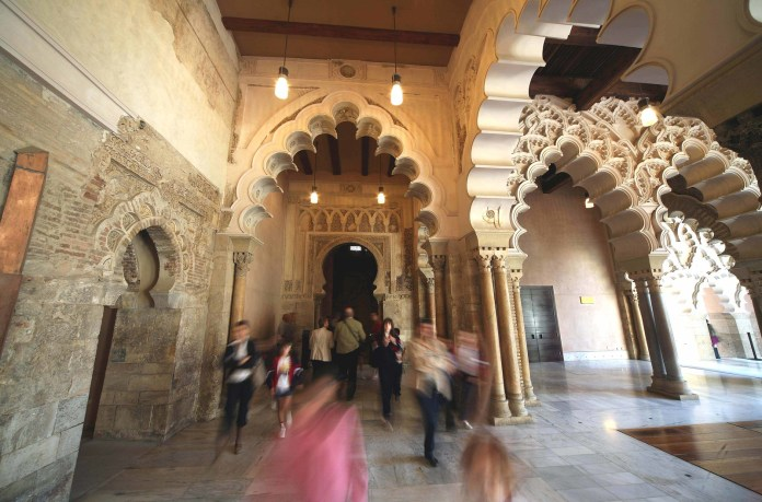 阿爾哈費里亞宮 Aljaferia - Autor agustin martinez ©Zaragoza Turismo