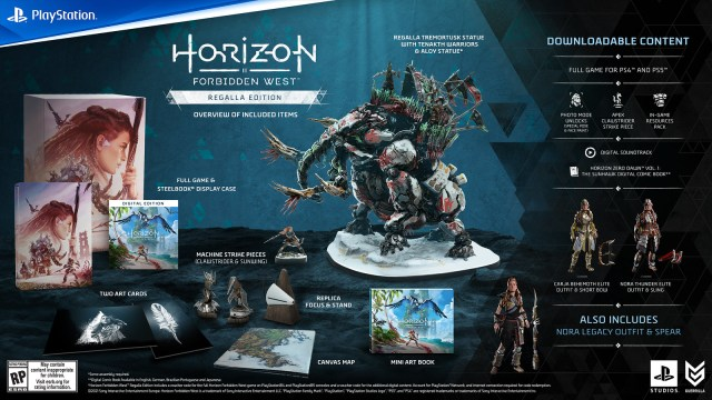 Pre-order Horizon Forbidden West now: Collector's and Digital Deluxe Editions detailed 4