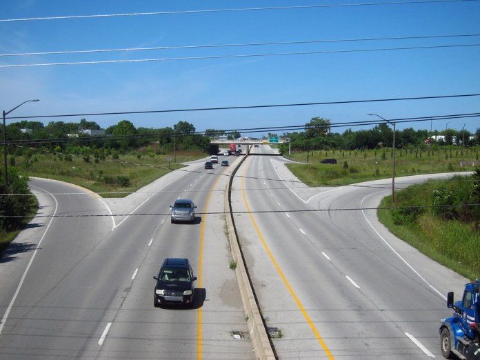 Shadeland Ave. NB from Pennsy Trail