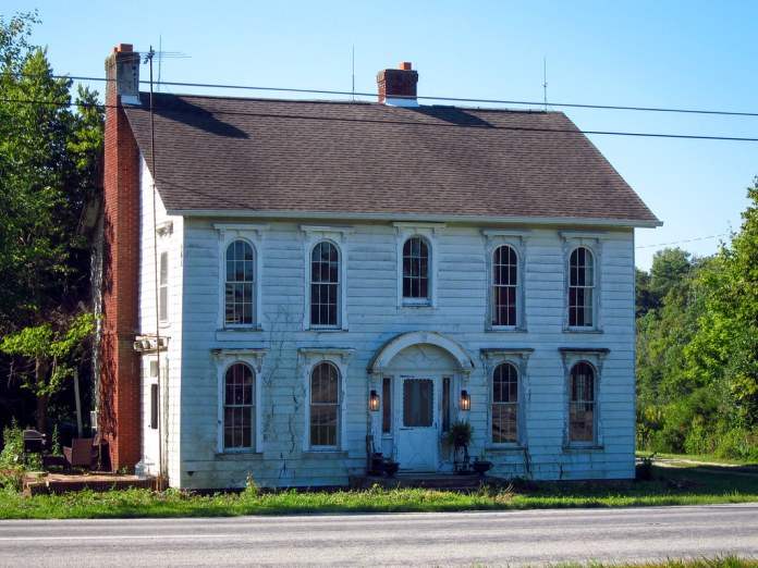 Old house, Hancock County