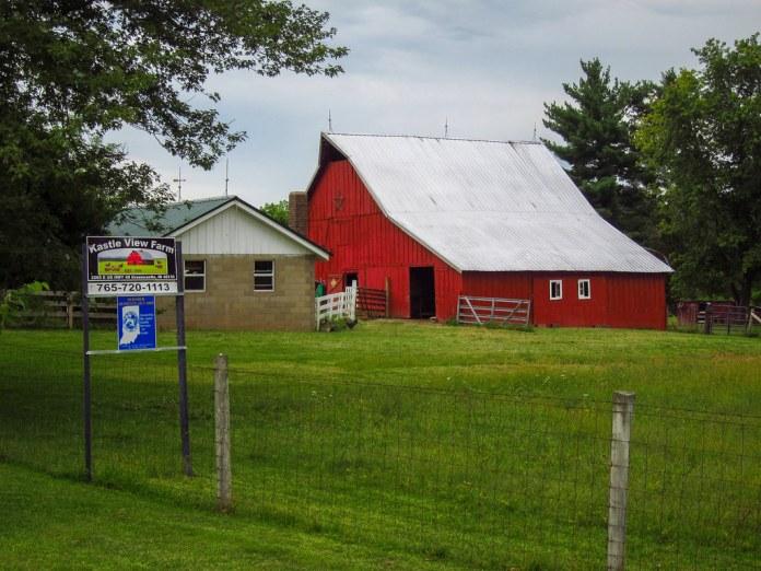 Kastle View Farm on US 40, Putnam Co.