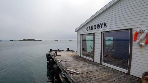 Overnatting Sandøya
