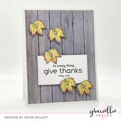 Give Thanks CAS Card