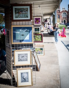 Selling Photographs in Pittsburgh's Strip District