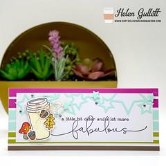 Lot More Fabulous Slimline Card