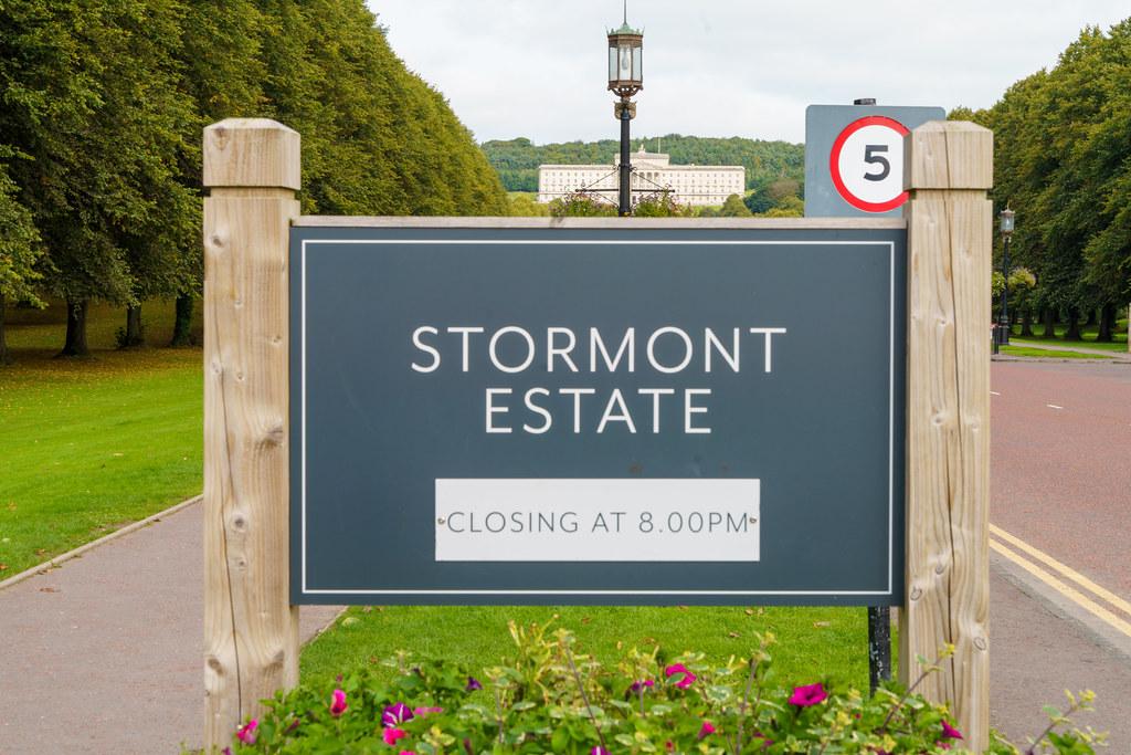 STORMONT [THE PARLIAMENT BUILDINGS IN BELFAST]-197600