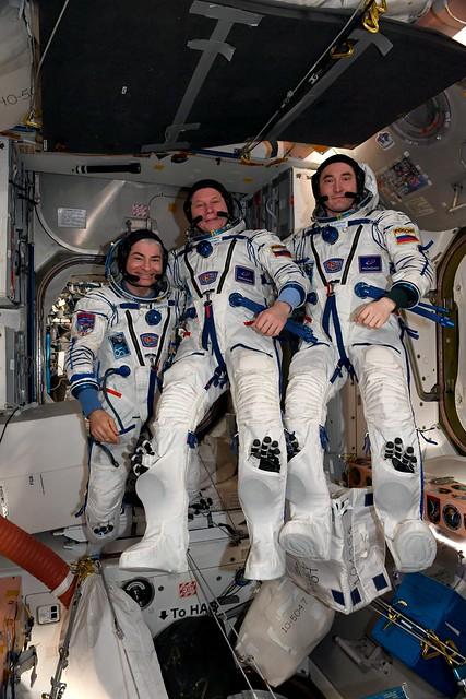 The Soyuz MS-18 crew