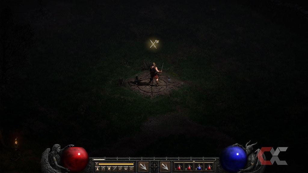 Review-Diablo-II-Resurrected-Overcluster-Teletrasportación