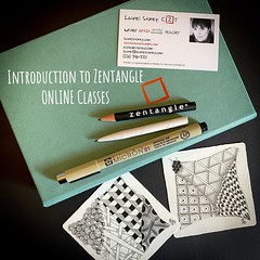 Introduction to Zentangle online classes
