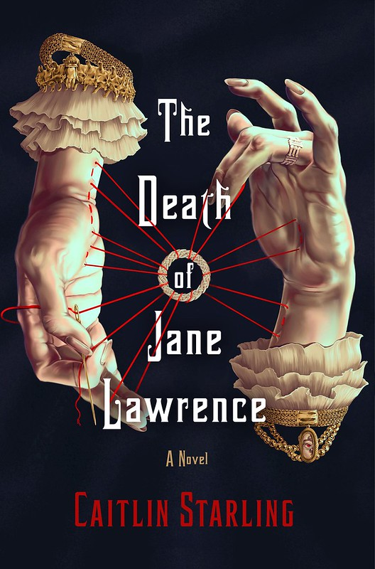 """Cover to """"The Death of Jane Lawrence."""""""