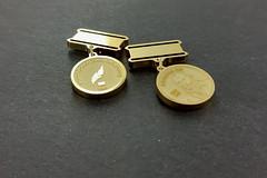 minatury medali pamiątkowych