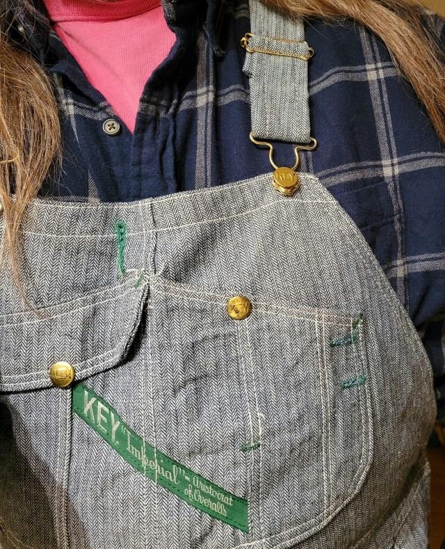 Flannel shirt, Key overalls