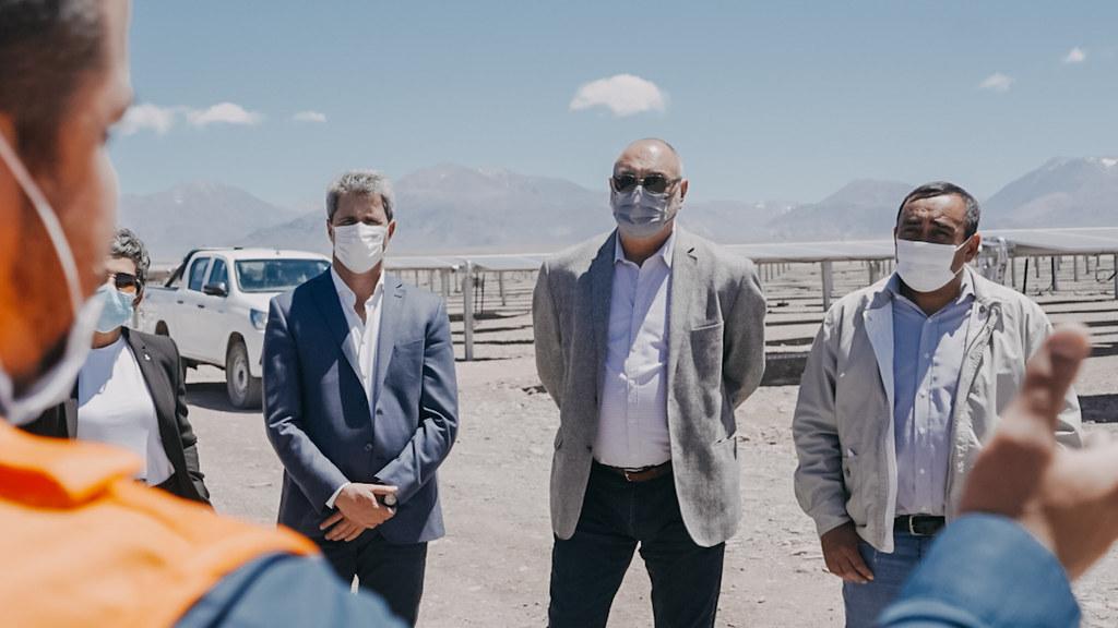 2021-10-19 PRENSA:  Sergio Uñac inauguró el Parque Solar Guañizuil 2, uno de los más grandes de la Argentina
