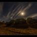 Moon over Oaks