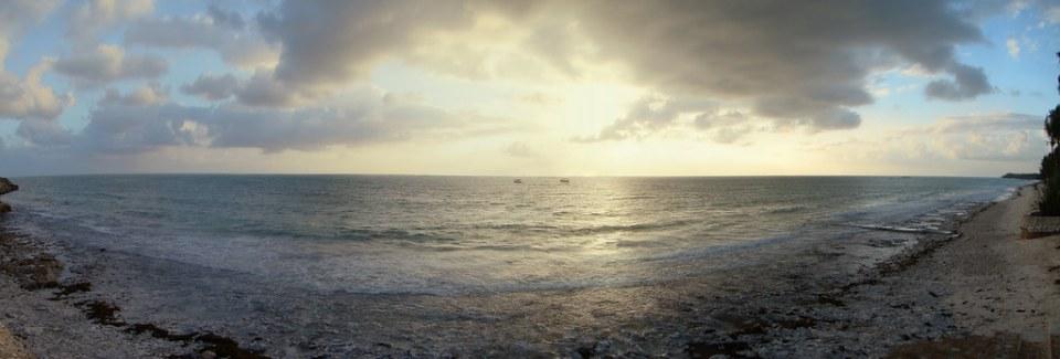 atardecer puesta de sol costa isla Zanzíbar Tanzania 01