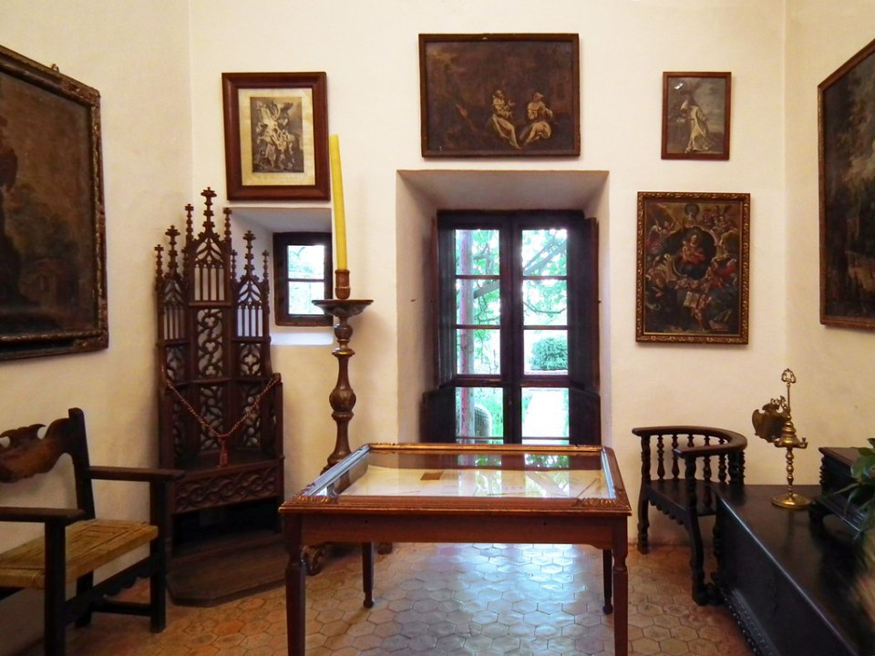 sala interior la Cartuja Valldemossa Mallorca