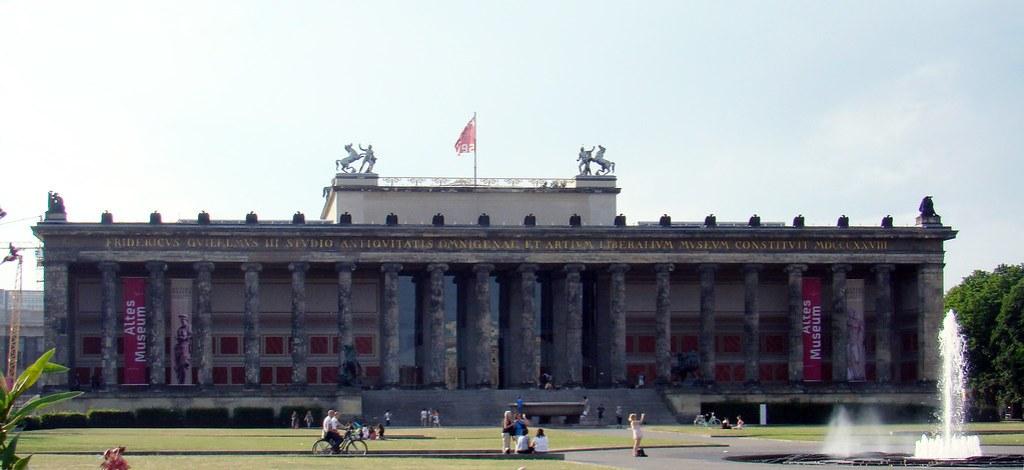 edificio Museo Antiguo Altes Museum Isla de los Museos Berlin Patrimonio de la Humanidad UNESCO Alemania 05