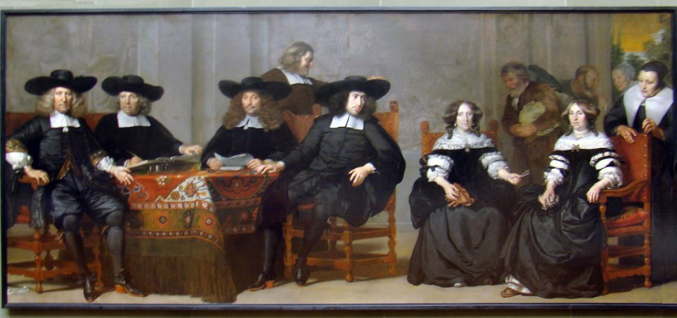 Pintura holandesa XVII Rembrandt, Hals, Steen, Vermeer Museo Gemaldegaleria Berlin 48