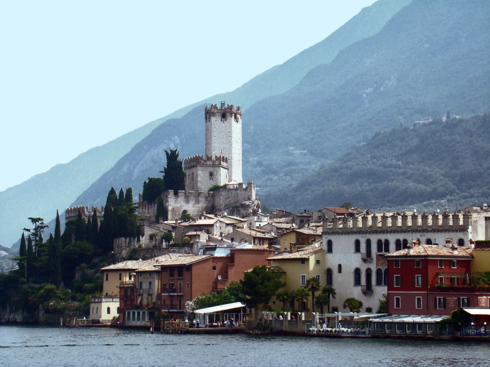 Castillo Scaligero Malcesine Italia 02