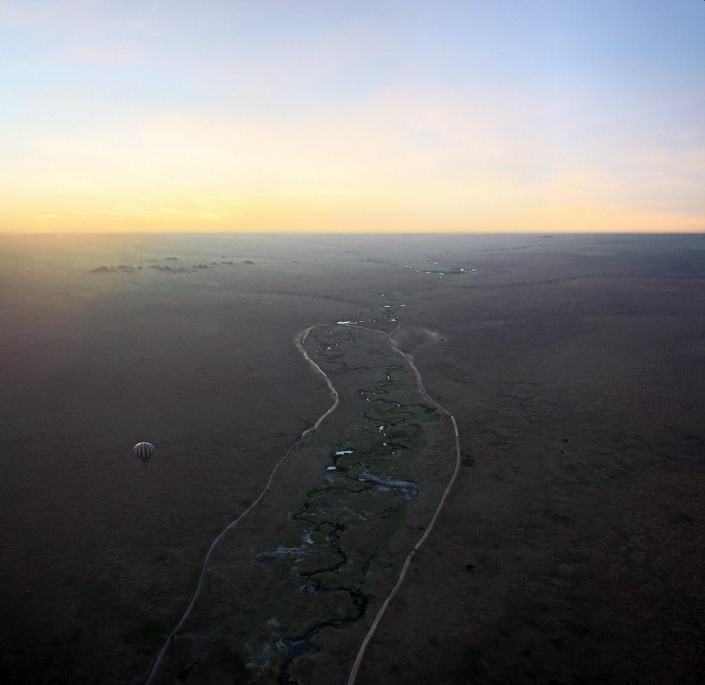 viaje en globo por el Serengueti Tanzania 02
