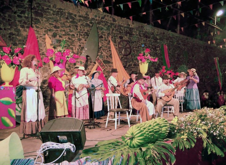 fiesta y ambiente Romeria Virgen Cuevecillas Agaete 01
