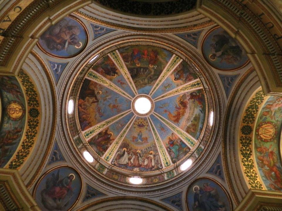 cupula interior Monasterio de Nuestra Señora de Monte Carmelo Stella Maris Haifa Israel 03