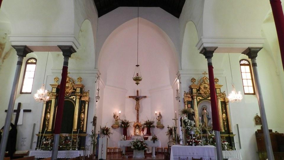 Periana altar mayor Iglesia San Isidro Labrador Malaga 02