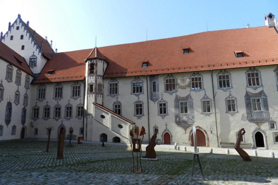 Füssen Castillo Alto Hohes Schloss Baviera Alemania 13