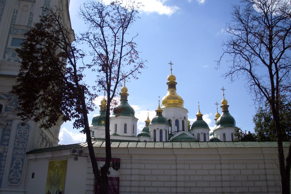 Kiev Catedral de Santa Sofia Ucrania 01