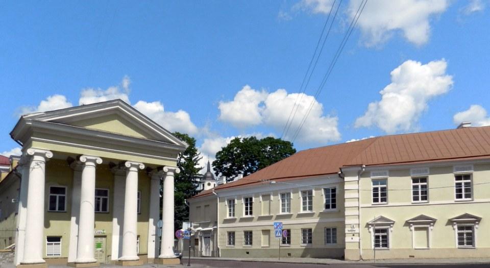 exterior edificio Palacio de Reus Vilna Lituania 03