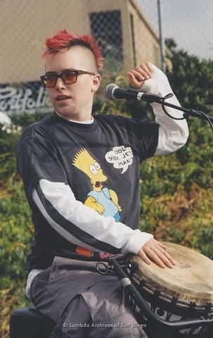 Youth Stage at San Diego LGBTQ Pride Festival, 2003