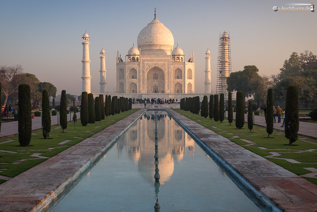 Taj Mahal in morning light