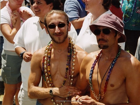Commitment Ceremony at San Diego LGBTQ Pride Festival, 2002