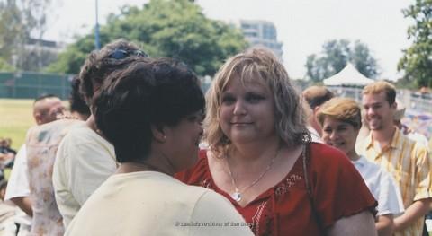 Commitment Ceremony at San Diego LGBTQ Pride Festival, 2003