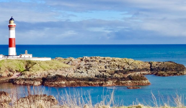 Buchan Ness Lighthouse Boddam Peterhead Aberdeen Scotland