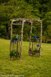 Natural Pergola Wedding Arch