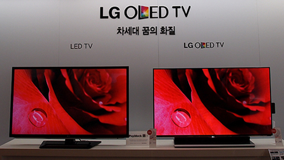 Lg Electronics Oled Tv Vs Lcd Led Tv A Photo On Flickriver
