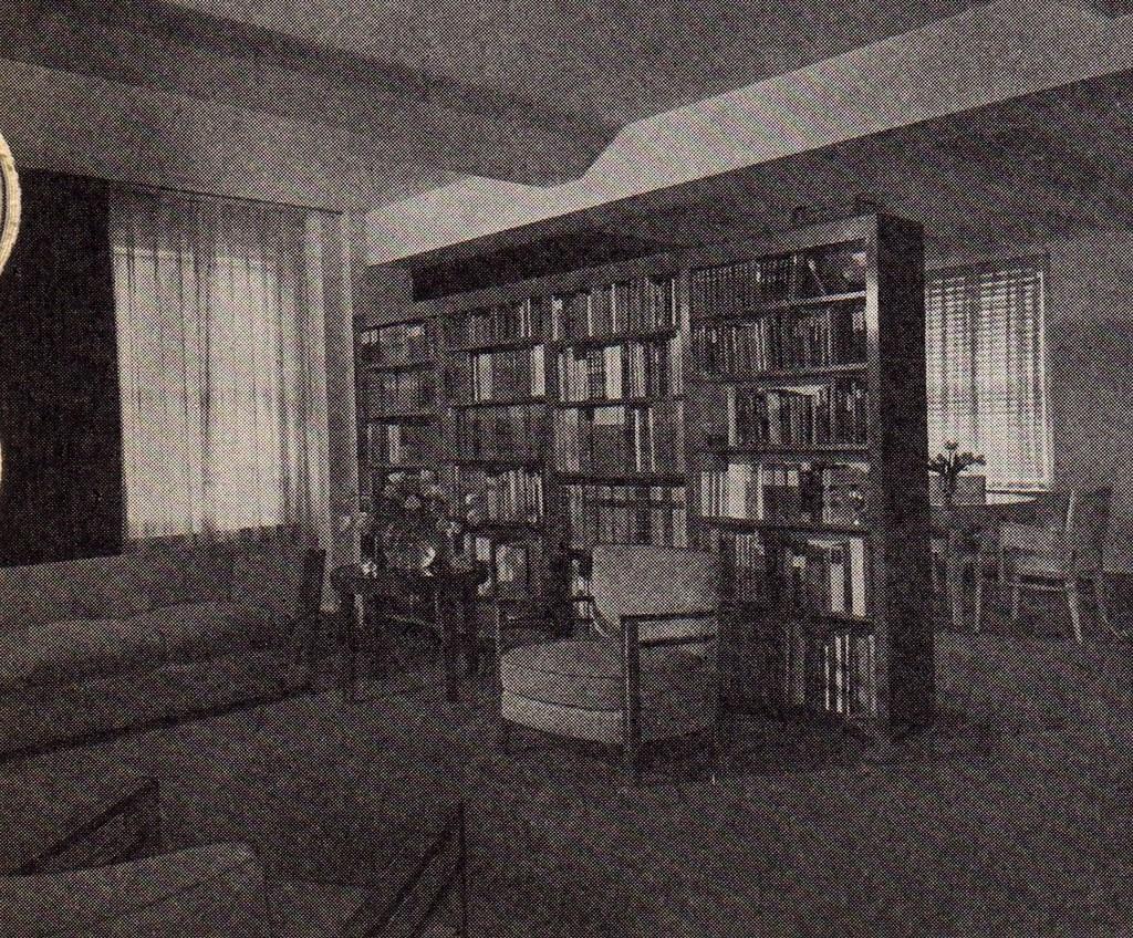 Mid Century Modern The Bookshelf As A Room Divider Flickr